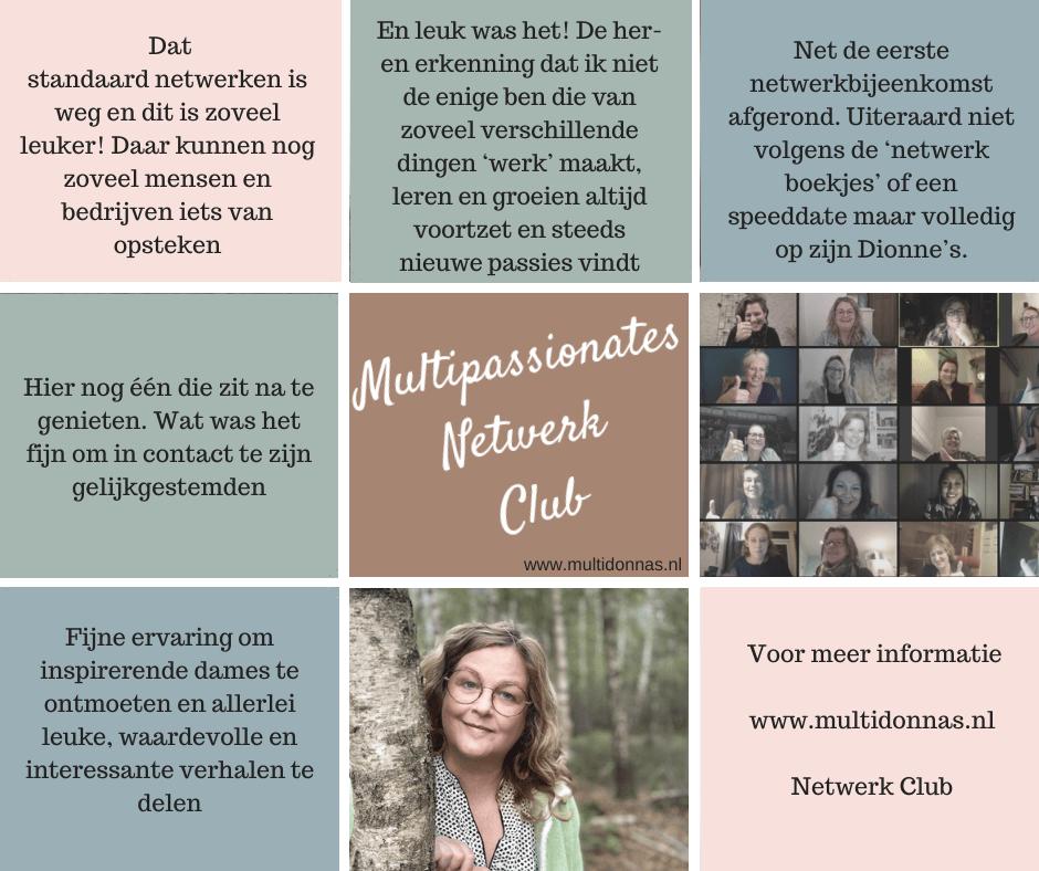 Online Multipassionates Netwerk Club Nederland