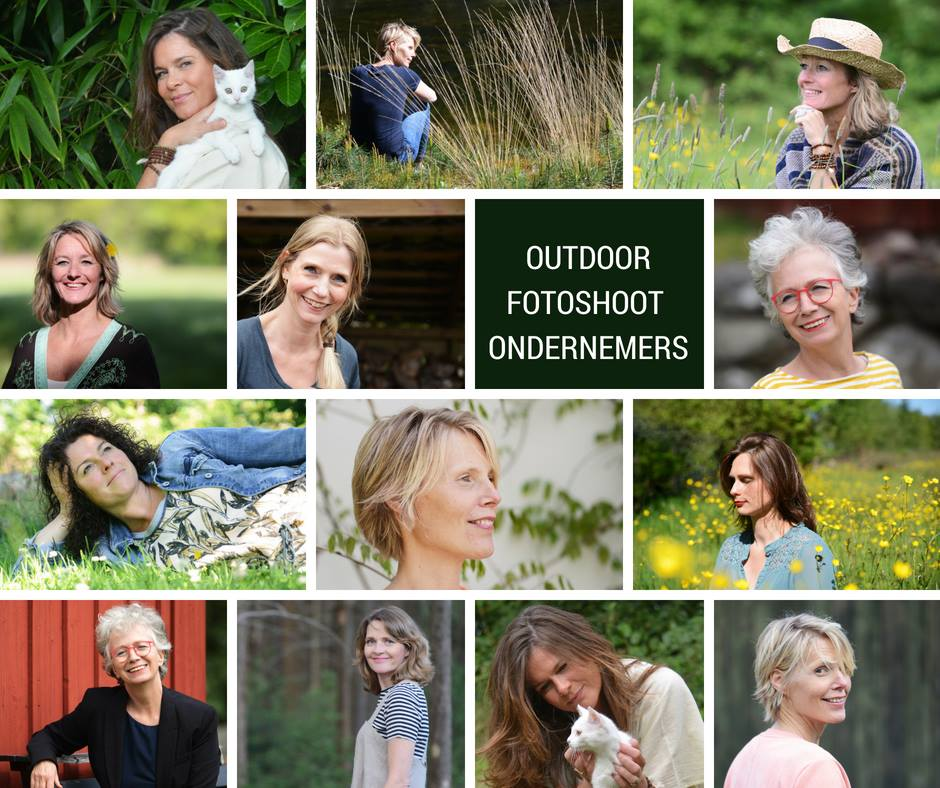 Outdoor fotoshoot ondernemers MultiDonna Multipassionate