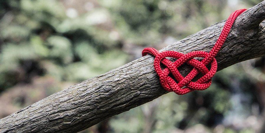 Rode draad kapstok training